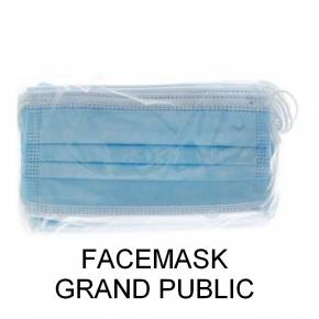 Masque jetable facemask