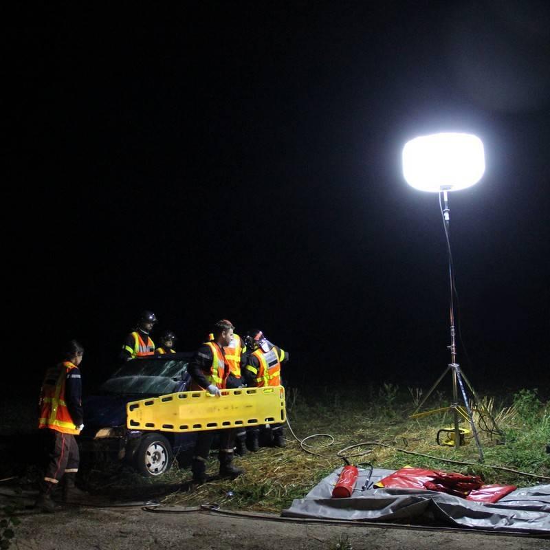 Sirocco 75Klm utilisé par les professionnels du secours en situation d'urgence
