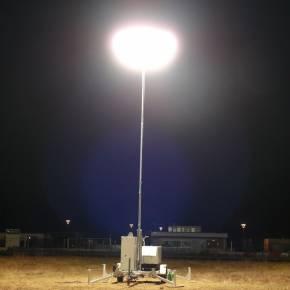 Sirocco 2L 4000w HMI pour l'éclairage de travaux aéroportuaires