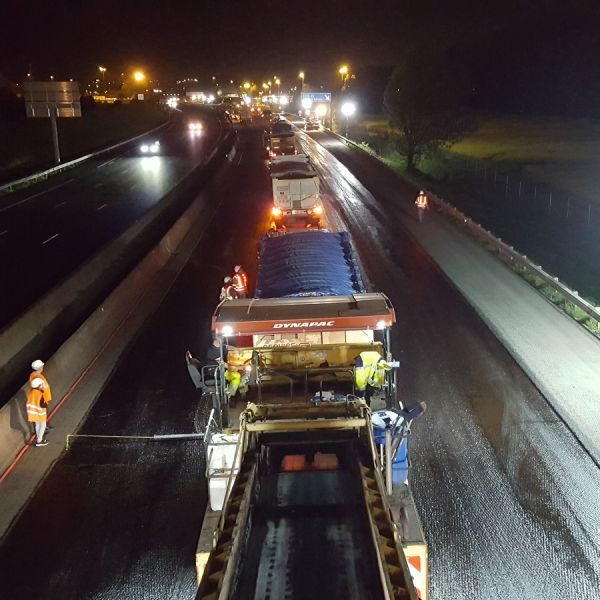 prestation éclairage chantier prolutech
