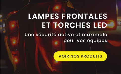 Lampes frontales et torches led